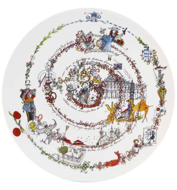 Prato Marcador A Cronologia