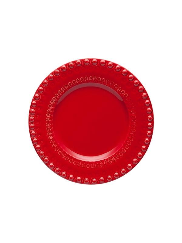 Prato fruta 22 Vermelho
