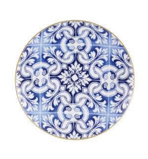 Prato Marcador Azulejos