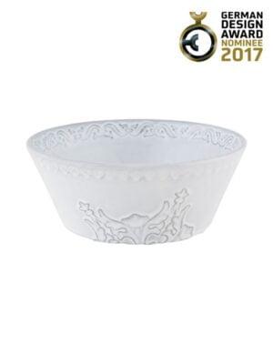 Tigela 16 Branco Antique