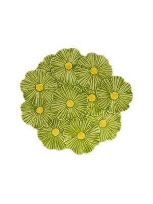 Prato 37 Cosmos verde/amarelo