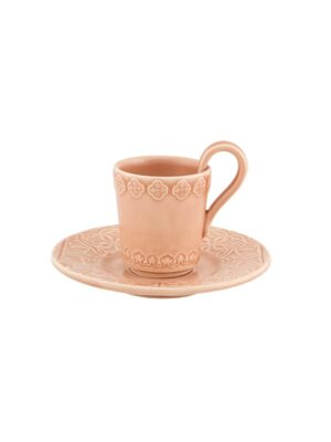 Chávena Café com Pires Rosa Nuance