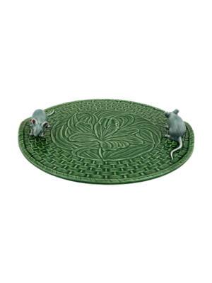 Queijeira Lírios c/ Ratos Verde/Natural
