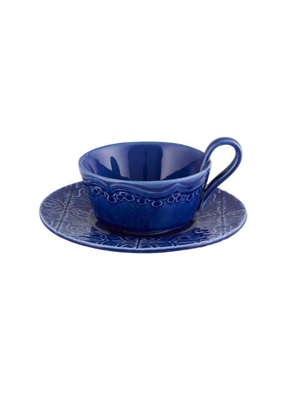 Chávena Chá c/ Pires Azul Madruga