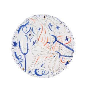Prato Marcador Azul