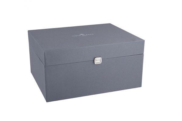 Domo Handle MattGold Cubertería 130 Piezas con Estuche
